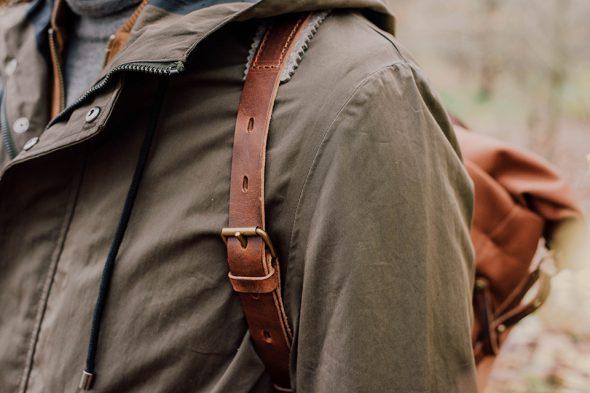 bretelles sac woody feutrine