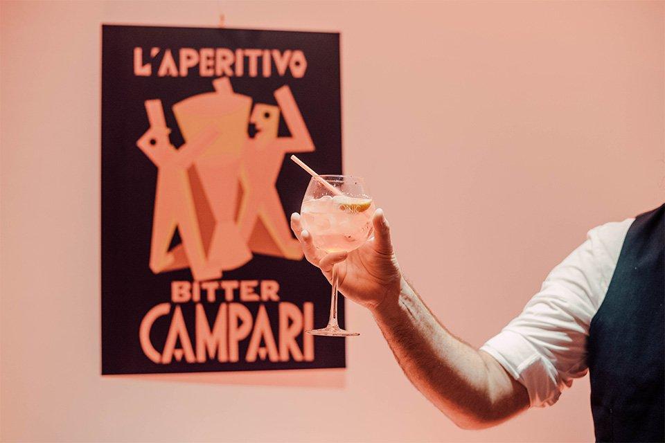 campari tonic soirée bartender competition