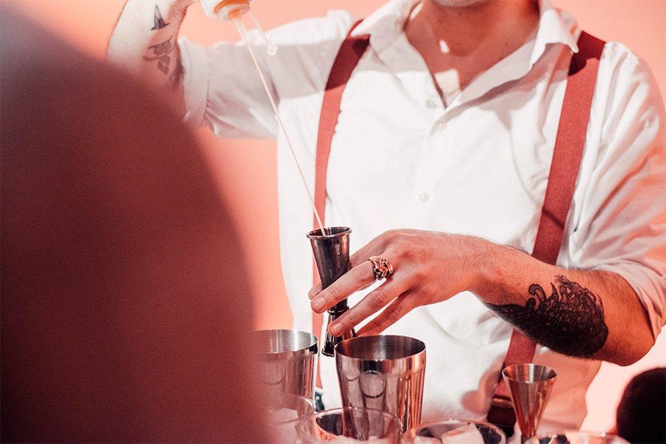 campari bartender competition henri lunelli action