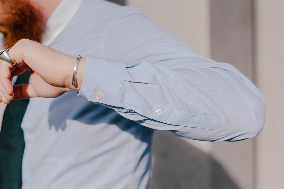 detail manche chemise manufacture du marais