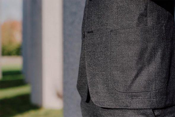 detail veste costume victor manufacture du marais