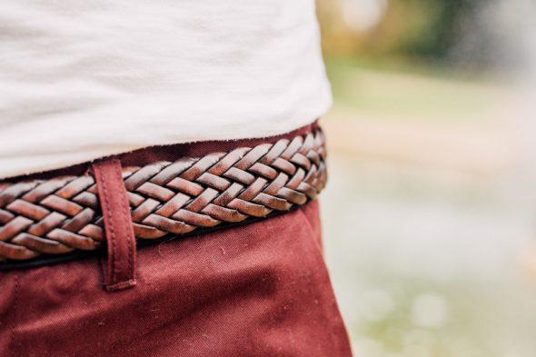 details ceinture atelier particulier tressee
