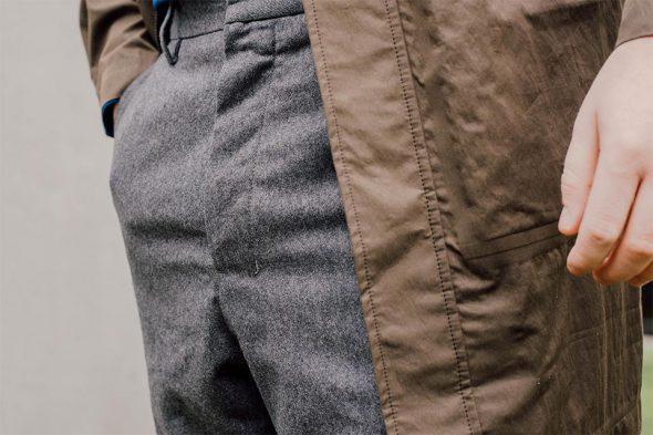 details pantalon ernest manufcature du marais