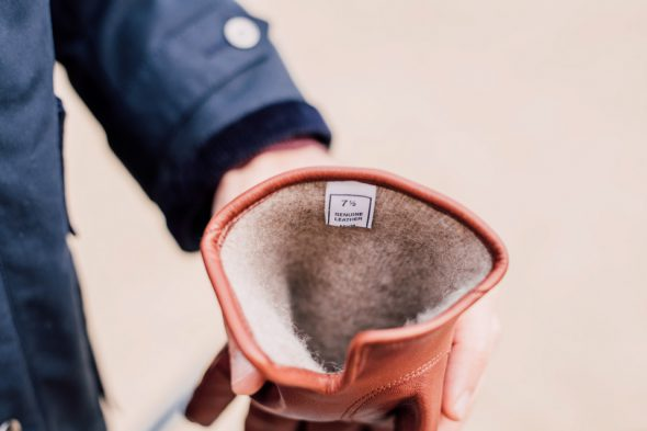 doublure cachemire gants cuir atelier particulier
