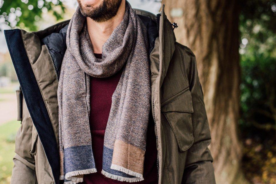 echarpe atelier particulier laine soie