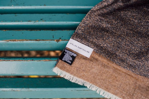 echarpe laine soie atelier particulier