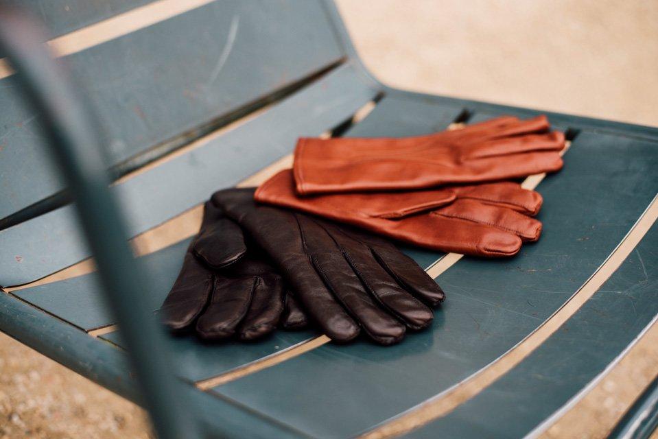 gants cuir atelier particulier