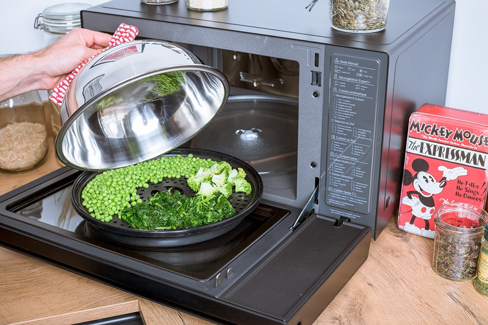 Légumes cuisson four vapeur