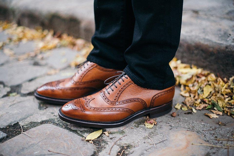 Look Poivre et Sel Chaussures