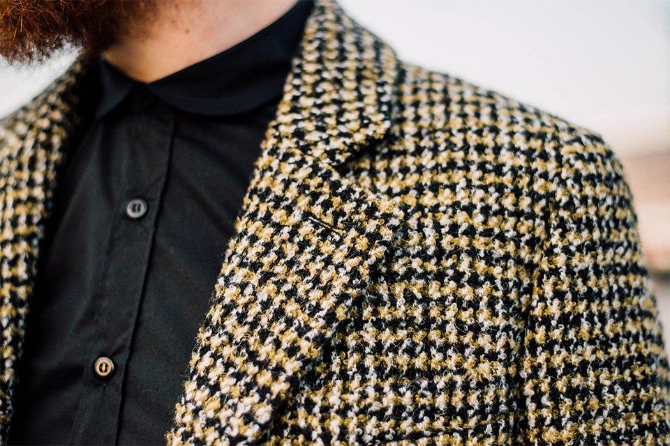 motifs manteau laine agnes b