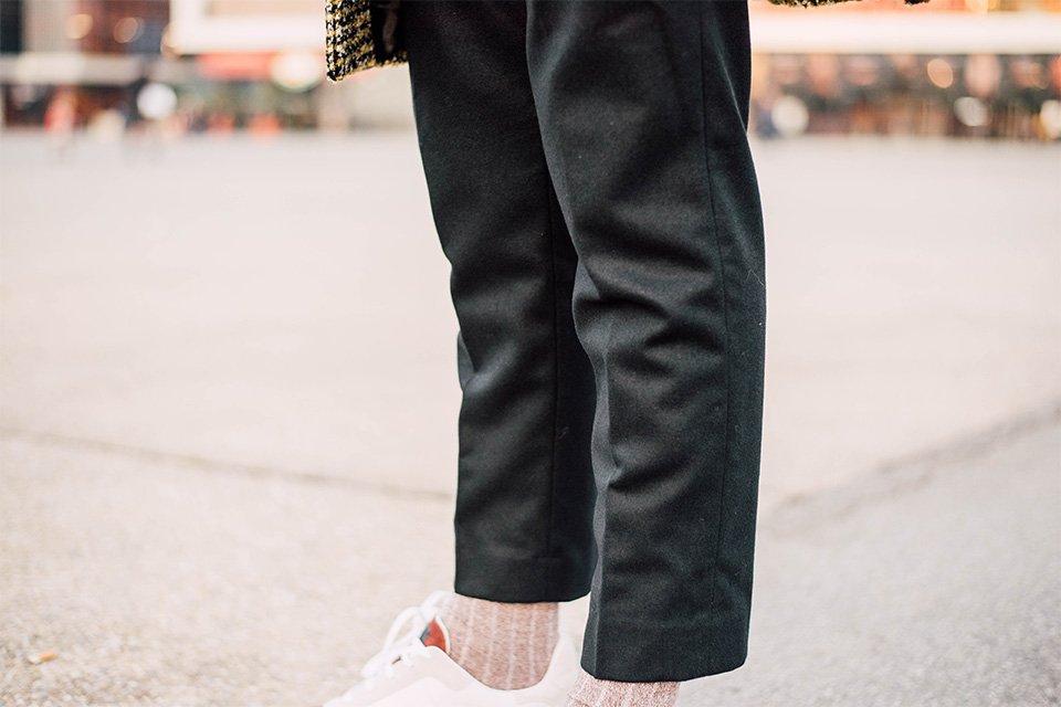 pantalon flanelle de laine Harmony