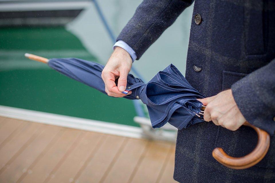 Parapluie Piganiol Henri attache
