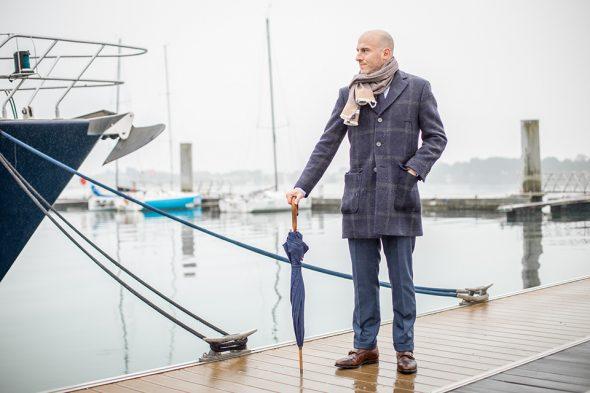 Parapluie Piganiol Henri look