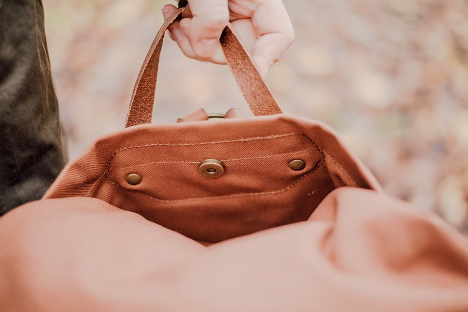 pochette exterieure sac woody
