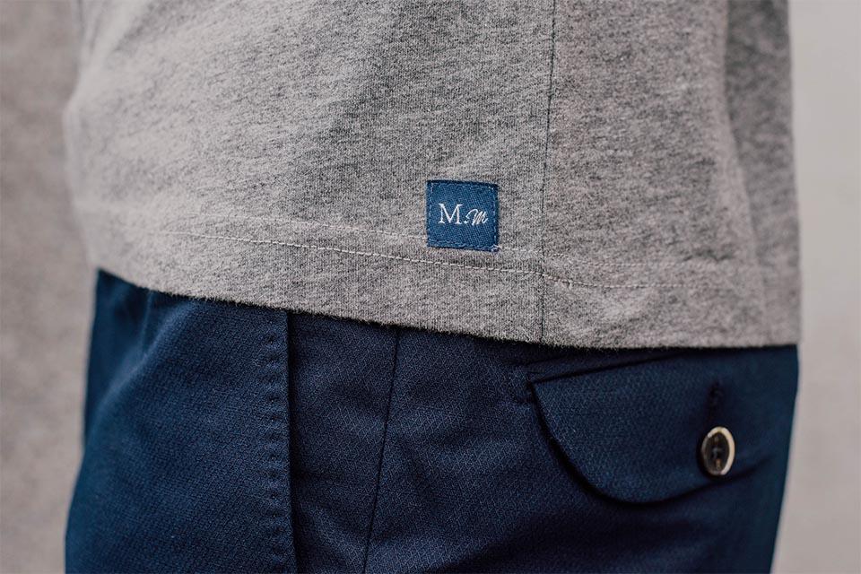 t shirt gris manufacture du marais
