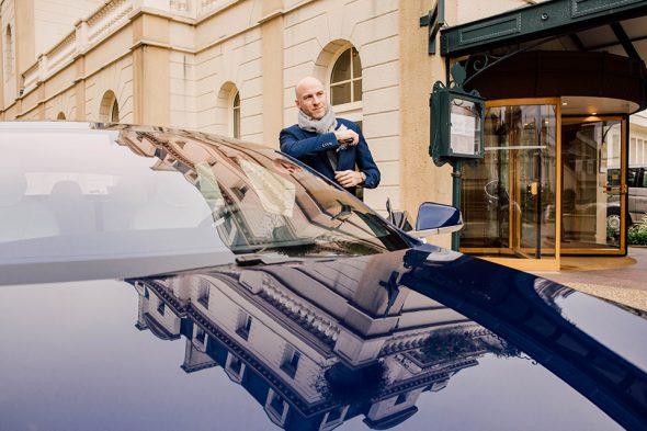 Tesla Model S Capot