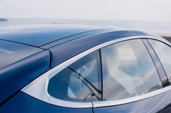 Tesla Model S fenetre