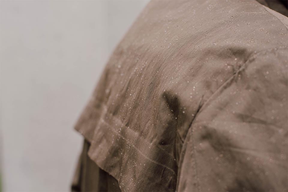 tissu deperlant parka manufacture du marais
