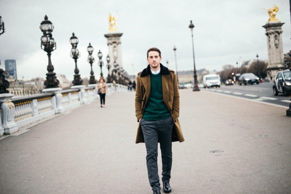 Julien Tony Pont Alexandre III look chic