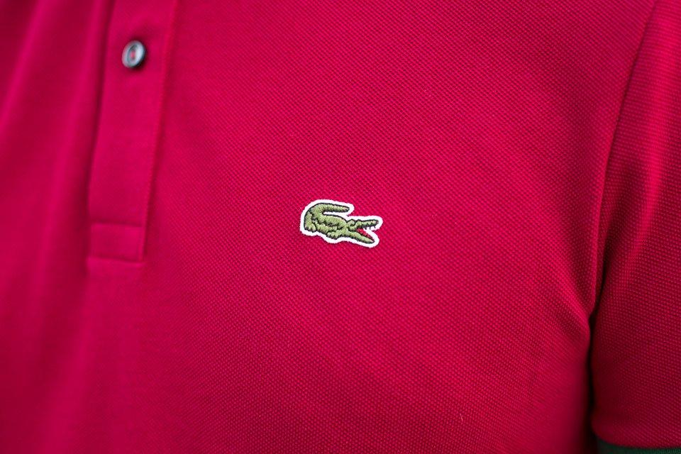 Lacoste Polo Porte Logo