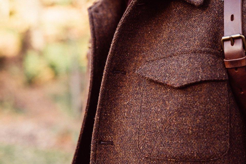 Look Hollington Veste Detail