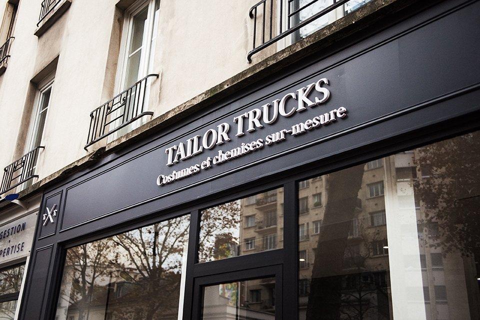 Manteau Tailor Trucks Facade