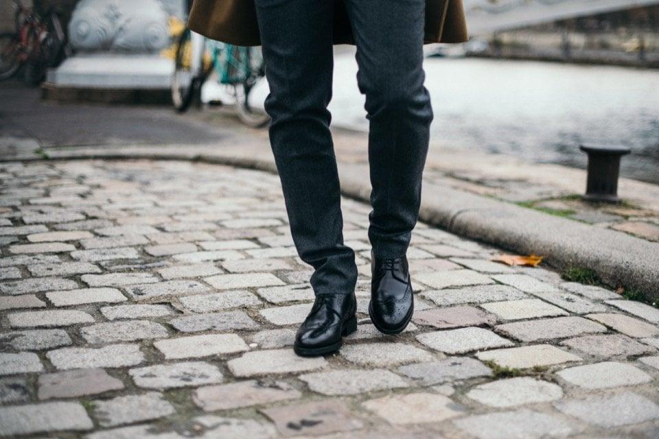 Pantalon AMI Boots chaussures Finsbury