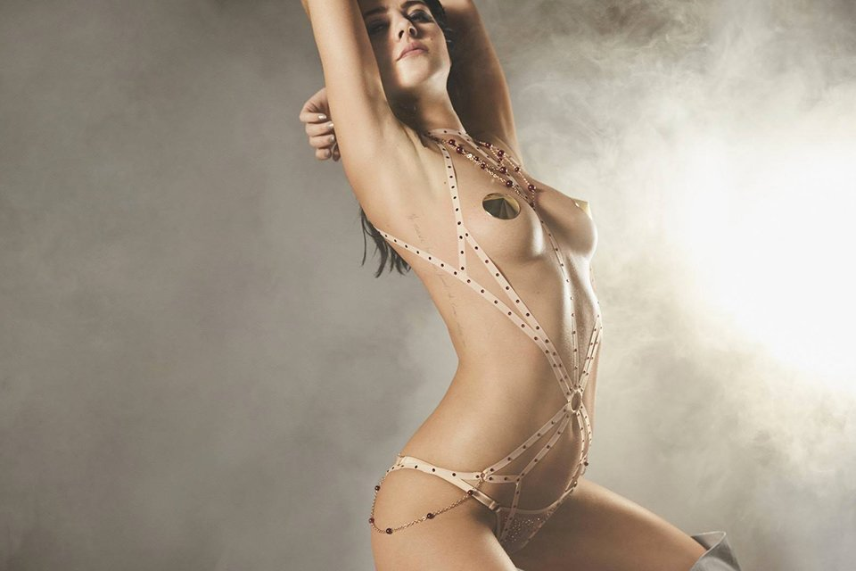 Eliza Cummings Agent provocateur nude