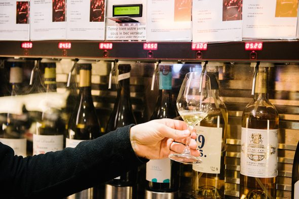 lavinia distributeur vin