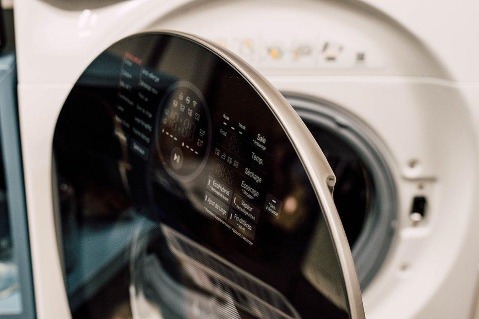 lg twin wash ecran