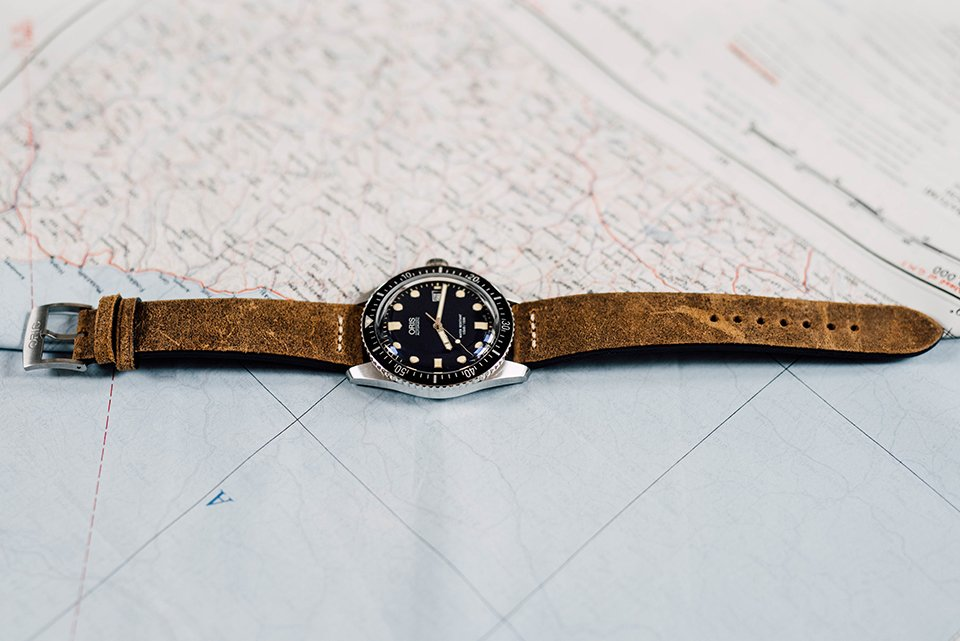 Montre Oris Divers Sixty Five 42mm Profil
