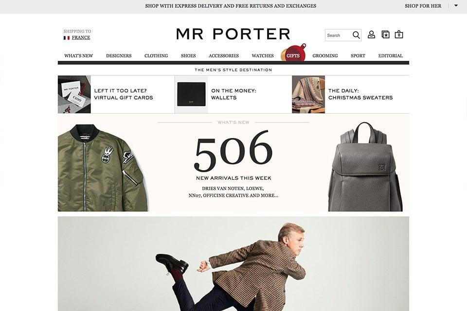 Mr Porter 2017