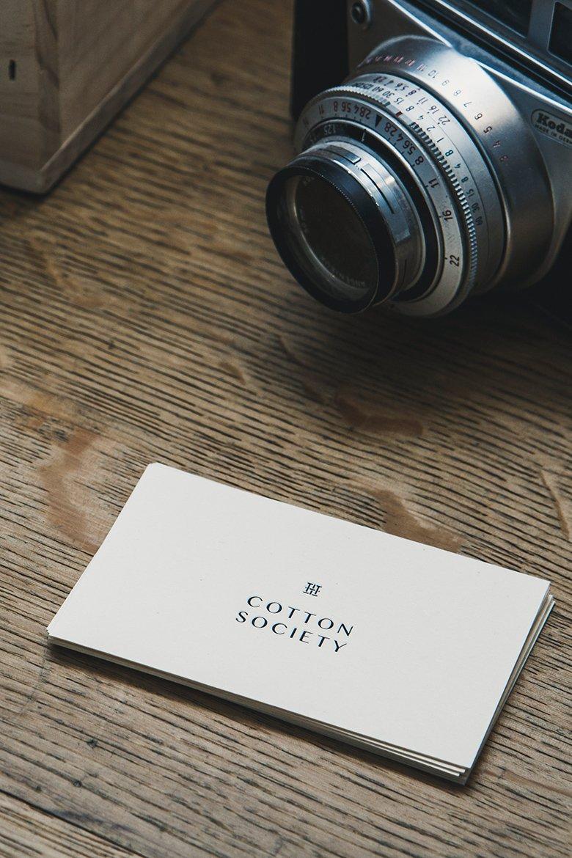 Boutique Cotton Society Carte