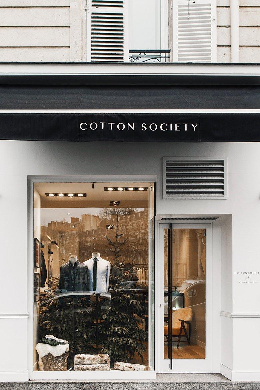 Boutique Cotton Society Vitrine
