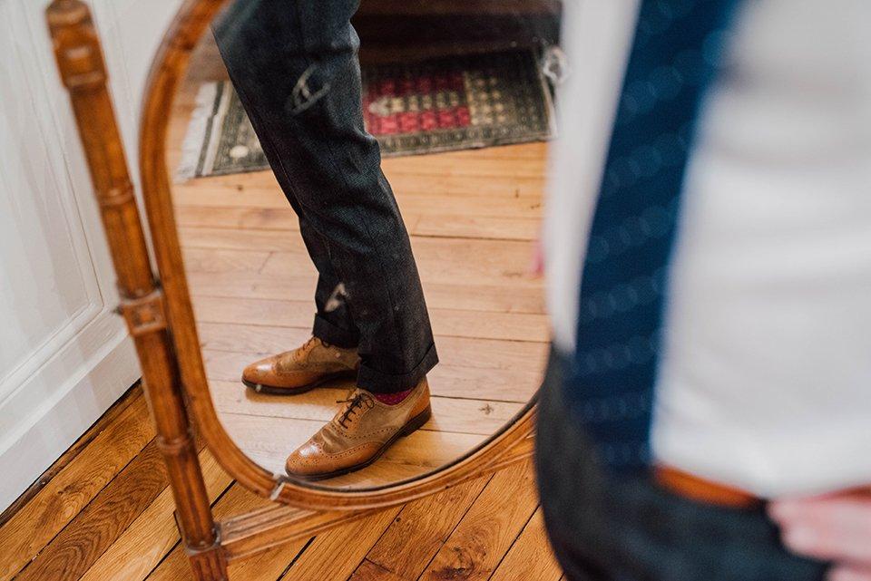 Costume Hackett Pantalon Miroir