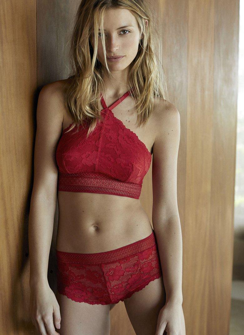Flavia Lucini Etam Red Sexy