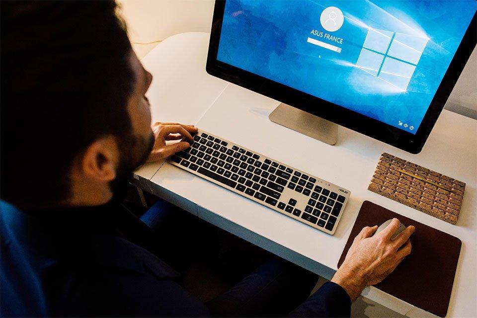 bureau ordinateur asus