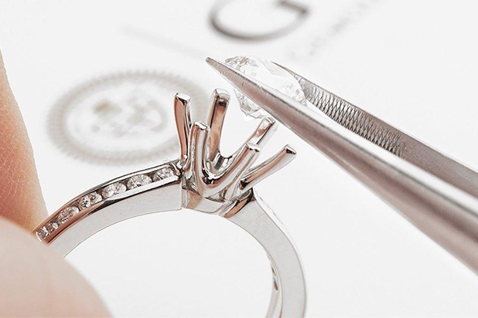 diamant certification or du monde