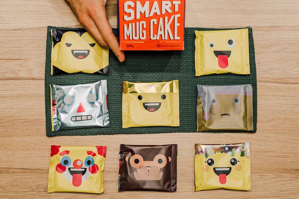 smart mug cakes packaging