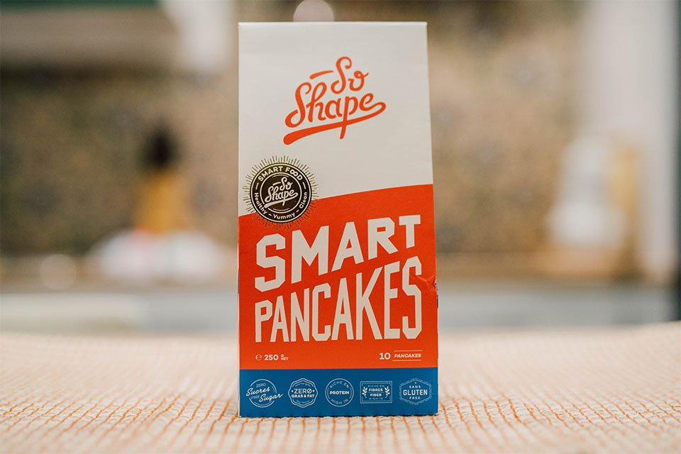 smart pancakes so shape packaging