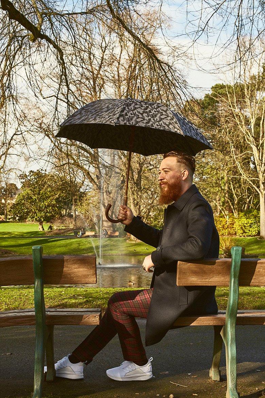 Look Jardin Parapluie Fontaine