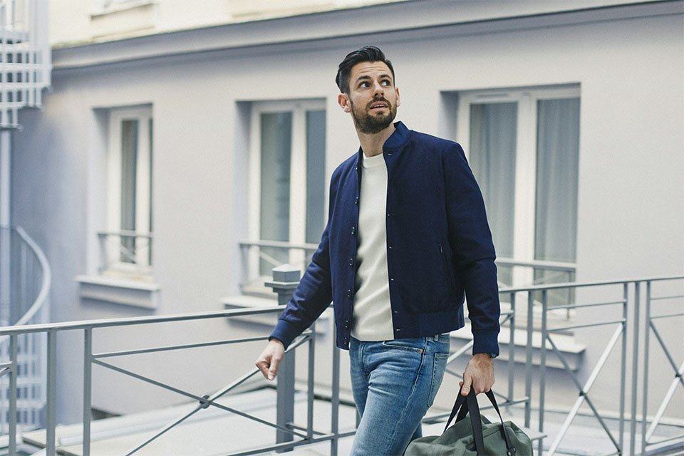 hotel baume look homme casual