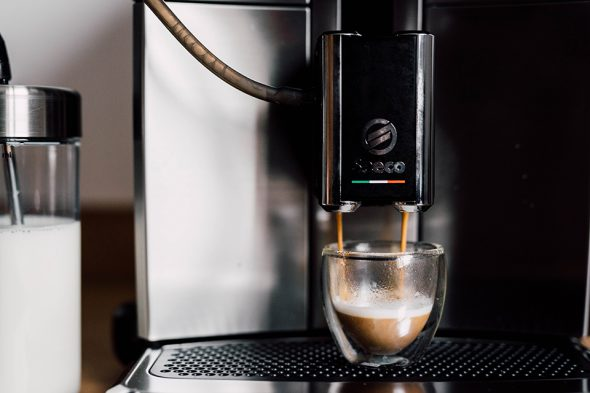 machine saeco cafe noisette