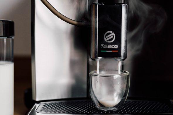 machine saeco lait