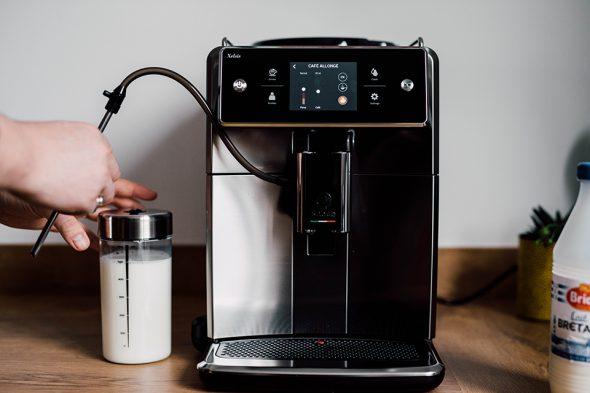 machine saeco recipient lait