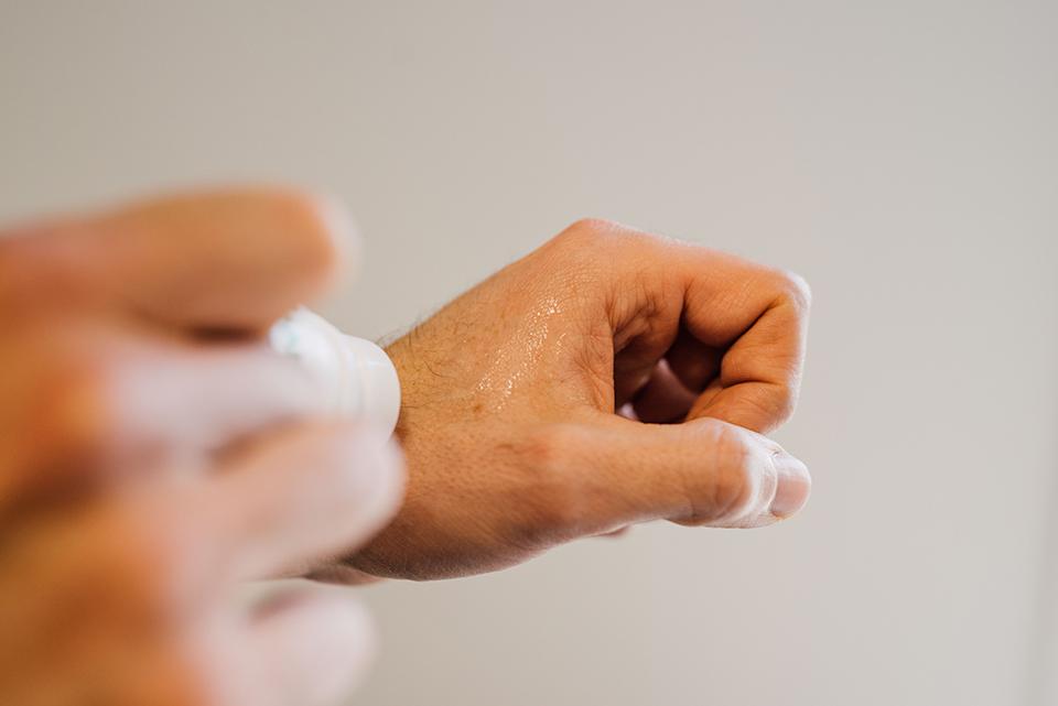 Deodorant Ho Karan Texture