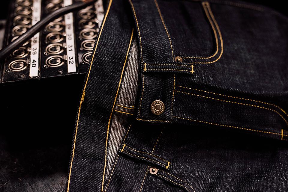 Jeans Asphalte Couture Interieure