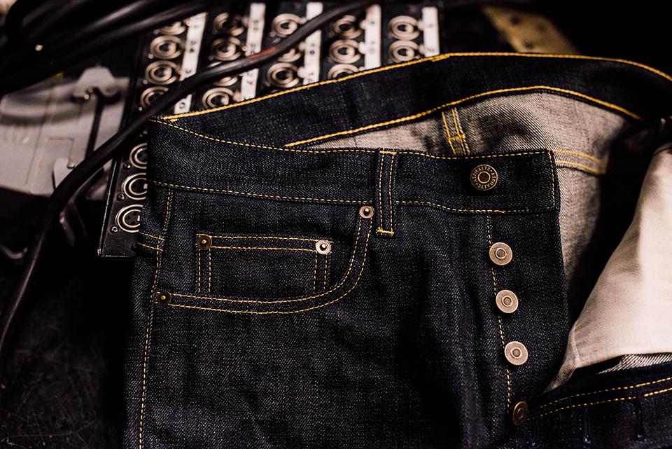 Jeans Asphalte Poche Ticket