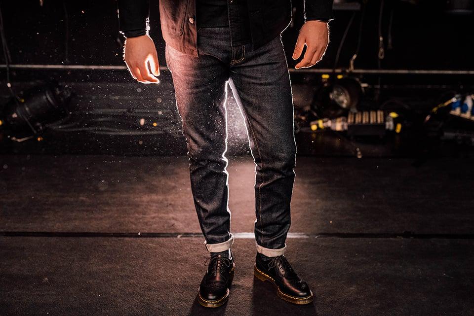 Jeans Asphalte Porte