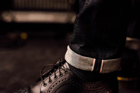 Jeans Asphalte Revers Close